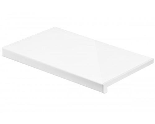 Подоконник пвх Кристаллит – Белый глянцевый