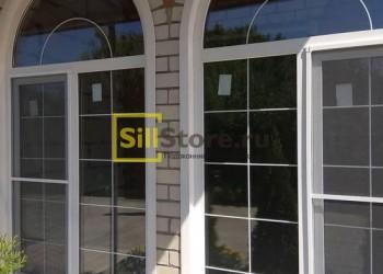 Антимоскитная сетка эркерного окна