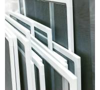 Рамочная москитная сетка на пластиковое окно